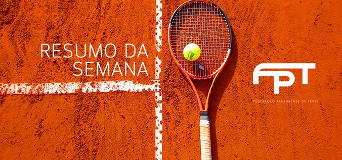 c10712e88f Veja os destaques do tênis paranaense no Resumo da Semana